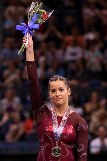 Alicia Sacramone at the US Nationals 2010 - VT GOLD