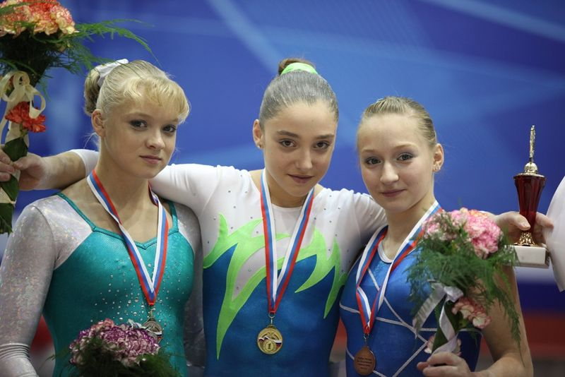 Russian Cup 2010 - FX medalists